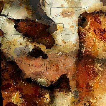 Verbrande toast van Kay Weber