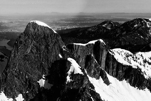 Bergen van bovenaf