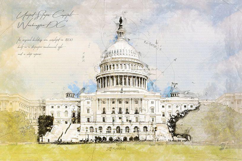 Capitol, Washington DC, USA von Theodor Decker