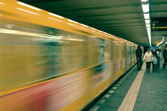 Berlin Subway van  Lars Bemelmans
