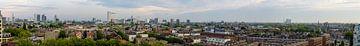 Breed panorama van de stad Rotterdam, Netherlands von Martin Stevens