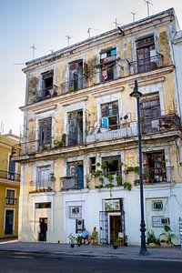 gebouw in cuba