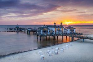 RÜGEN Seebrücke in Sellin zum Sonnenaufgang