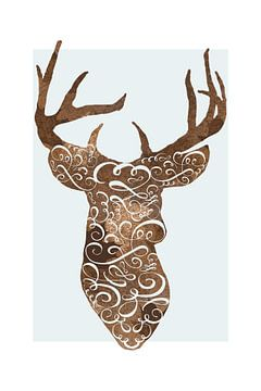 Oh Deer Oh Deer van Marja van den Hurk
