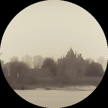 Slot Loevestein, Poederoijen, gemeente Zaltbommel. van Kees van der Rest