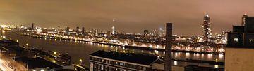 Panorama Maashaven Rotterdam von Freerk de Boer-Brouw