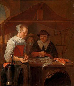 La femme poisson, Quiringh Gerritsz. van Brekelenkam sur