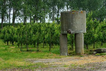 Alter Wassertank von Niek Traas
