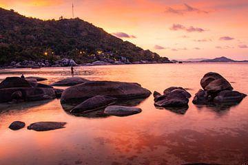 Sonnenuntergang auf Koh Samui von Martijn Bravenboer