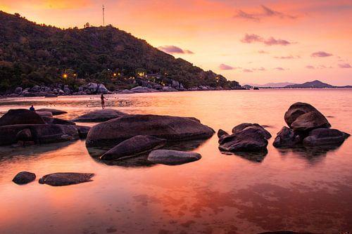 Zonsondergang op Koh Samui