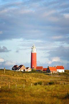 Texel Leuchtturm von Sjoerd van der Wal