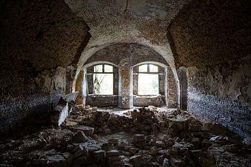Fort de la Chartreuse - Vervallen gewelf van Sebastiaan Lancel