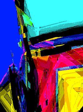Strijd Tussen Kleuren III van McRoa