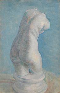 Gipsen vrouwentorso, van Gogh