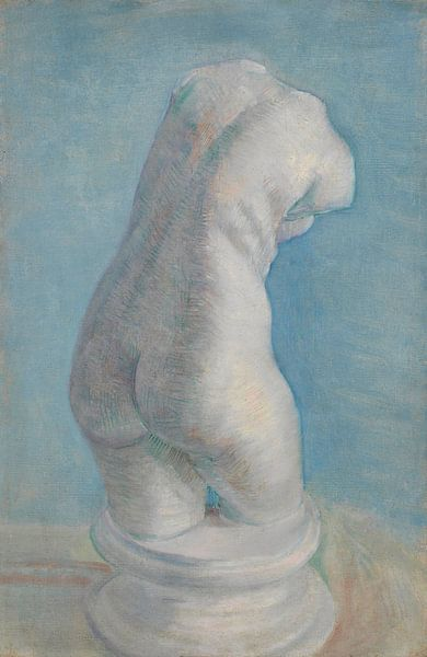 Gipsen vrouwentorso, van Gogh van Meesterlijcke Meesters