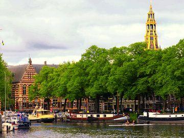 Zuiderhaven Groningen van Jessica Berendsen