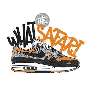 "Nike Air Max 1 ""Was die Safari"" von Pim Haring"