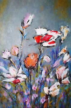 Fleurs des champs sur Angel Estevez
