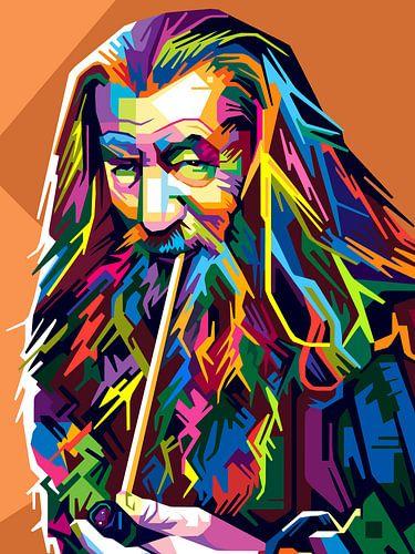 Pop Art Gandalf - The Lord of the Rings van