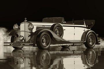 Maybach DS8 Zeppelin de 1935 - La voiture la plus luxueuse sur Jan Keteleer