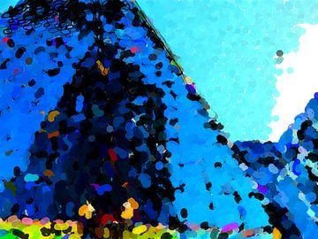 Torenhoog blauw  van Ready Or Not