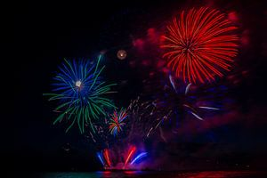 Vuurwerk5 van Fleksheks Fotografie