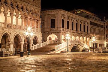 VENICE Riva degli Schiavoni by Night van