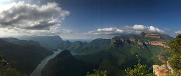 Blyde river canyon Zuid-Afrika van Wesley Klijnstra