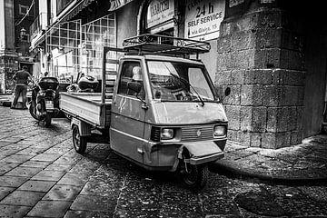 Vespa LKW Sizilien von Vincent de Moor