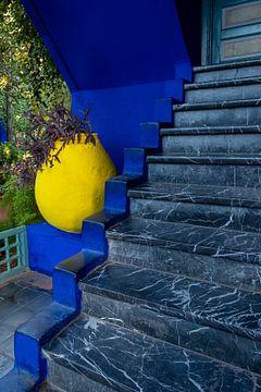 Majorelle Garten Marrakesch von Richard van der Woude