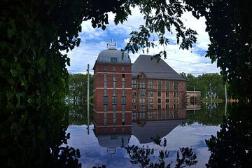 Schloss Horst gespiegelt van Edgar Schermaul