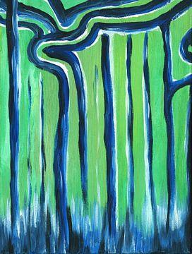 Dansende bomen van Saskia de Vreugd
