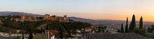 Alhambra - Granada (panorama) van