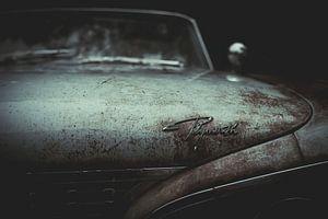 Motorhaube eines Plymouth-Oldtimerwagens