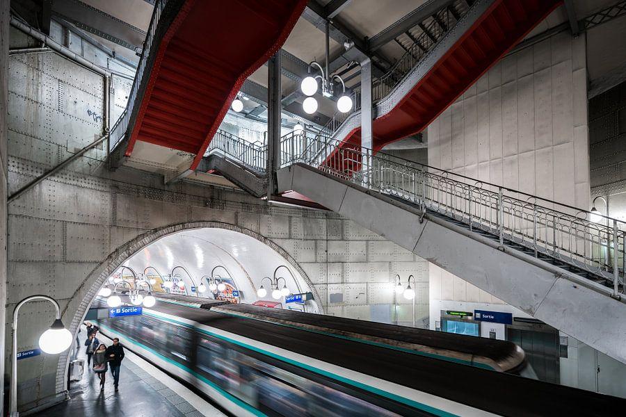Paris Metro van Scott McQuaide