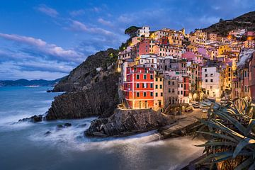 Riomaggiore Blues, Italië van Michael Abid
