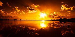 Wie is er bang voor het rood van een zonsondergang
