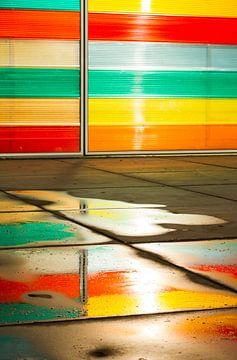 Kleurrijke weerspiegeling van Sander van der Werf