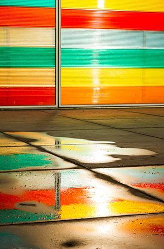 Kleurrijke weerspiegeling