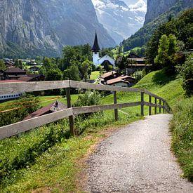 Lauterbrunnen en Suisse. sur Fotografie Egmond