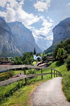 Lauterbrunnen in der Schweiz. von Fotografie Egmond