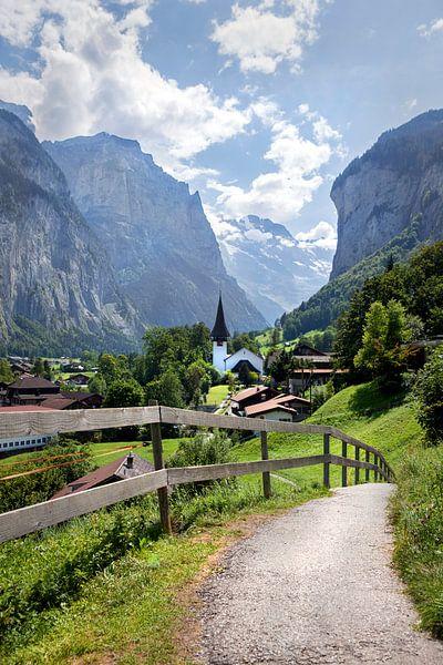 Lauterbrunnen, Zwitserland van Fotografie Egmond