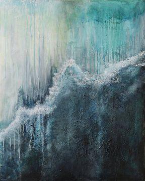 Natuurgeweld, Storm, zee, water en spetters van Linda Dammann