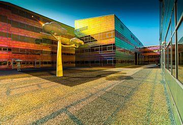 Belastingkantoor Almere Kleurrijke Architectuur von Pauline Aalfs