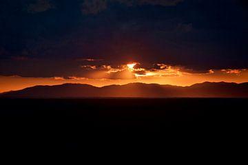 Sonnenuntergang am Mittelmeer von Willem Holle WHOriginal Fotografie
