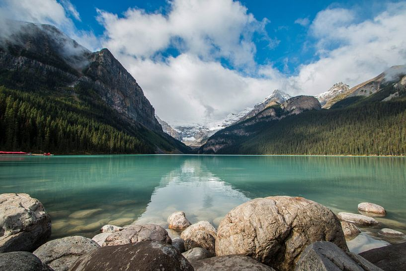 Lake Louise, Banff Canada. van Gert Hilbink