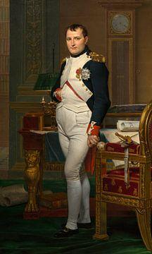 Der Kaiser Napoleon in seinem Arbeitszimmer in den Tuilerien, Jacques-Louis David