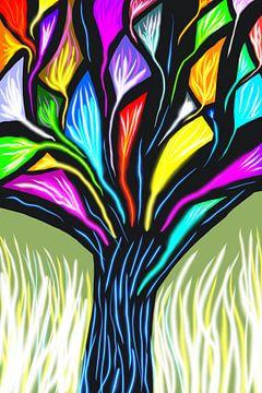 De kleurenboom. van Monique Schilder