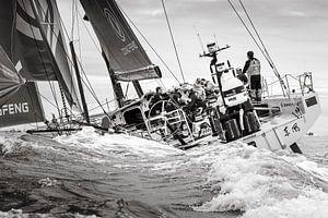 Finish Dong Feng Volvo Ocean Race 2018 van