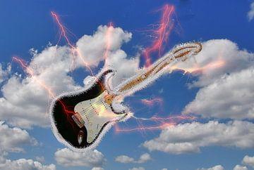 Gitarrenexplosion van Edgar Schermaul